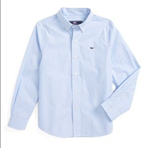 Vineyard Vines boys dress shirt NWOT size S (8-10)